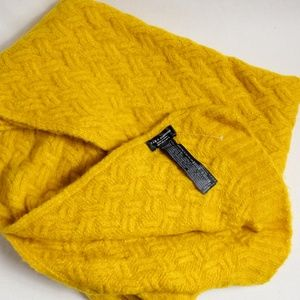 Zara Accessories - Zara Mustard Yellow Scarf NWOT